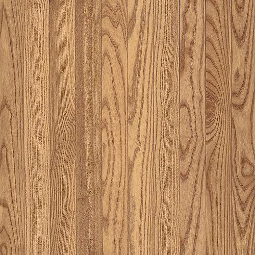 Bruce Plancher AO, bois massif, 5/16 po x 2 1/4 po, Chêne naturel, 40 pi2/boîte