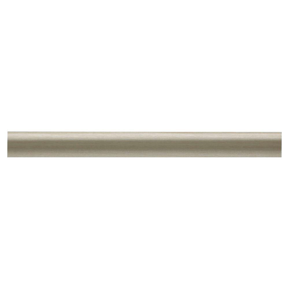 Moulure à panneau coloniale en bois dur blanc - 7/16 x 3/4 x 96 po