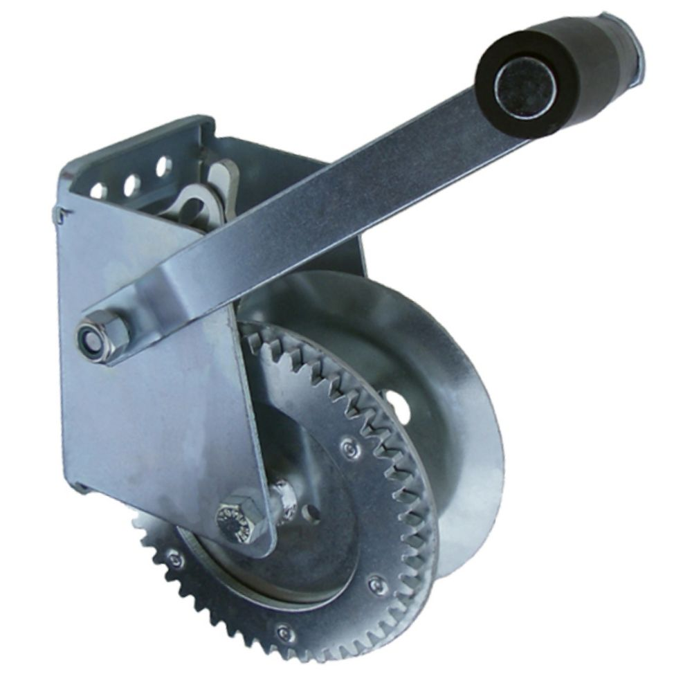 1,300 lbs. Manual Two-Way Zinc-Coated Winch