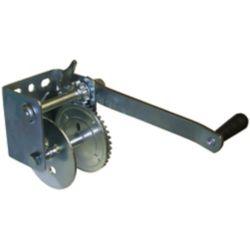 Multinautic 600 lbs. Zinc-Coated Manual Winch