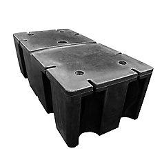 E-540 - Foam Filled Dock Float 24 inch x 48 inch x 16 inch
