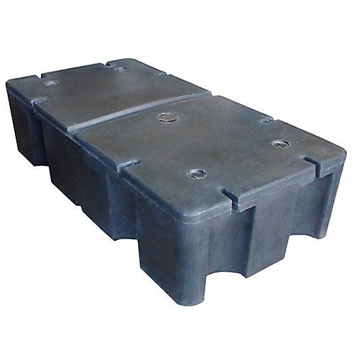 E-380 24-inch x 48-inch x 12-inch Foam Filled Dock Float