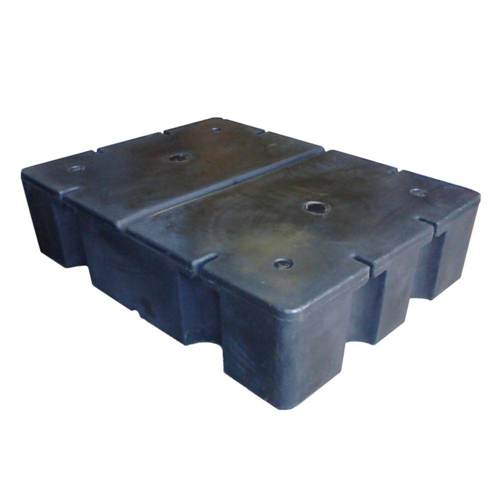E-610 36-inch x 48-inch x 12-inch Foam Filled Dock Float
