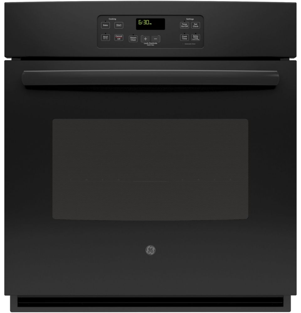 4.3 cu. ft. 27-inch Electric Single Wall Oven in Black
