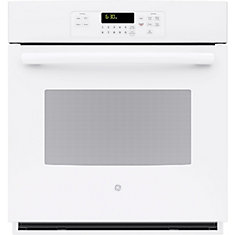 4.3 cu. ft. 27-inch Electric Single Wall Oven in White