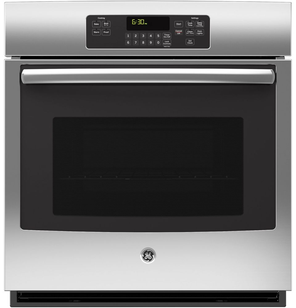 4.3 cu. ft. 27-inch Electric Self-Cleaning Single Wall Oven in Stainless Steel