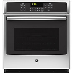 4.3 cu. ft. 27-inch Electric Convection Self-Cleaning Single Wall Oven in Stainless Steel
