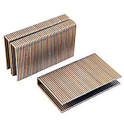 Freeman Agrafe à plancher 2po calibre 15,5, boîte colorée de 5 000