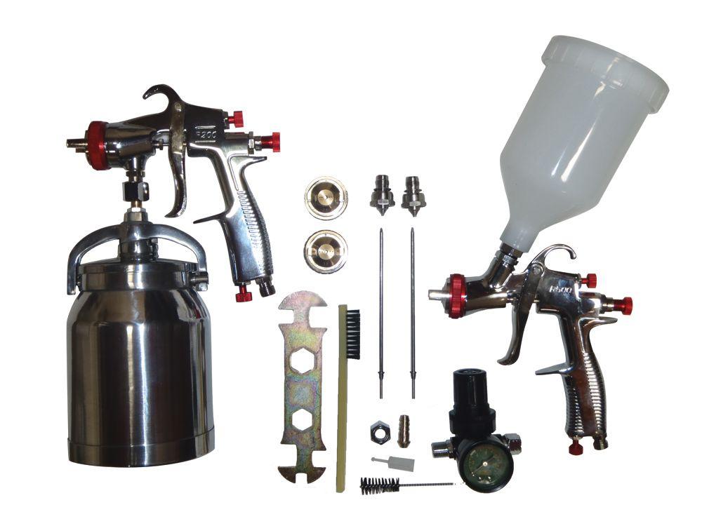 SP-33310K LVLP (Low Volume Low Pressure) Kit de pistolet
