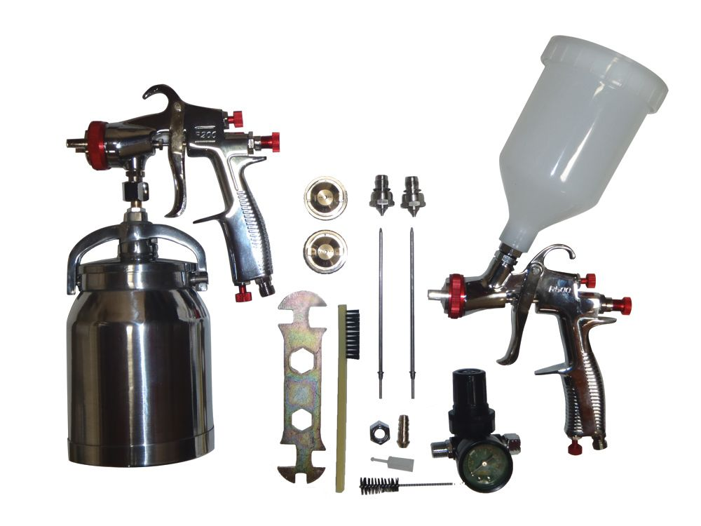 LVLP (Low Volume Low Pressure) Spray Gun Kit
