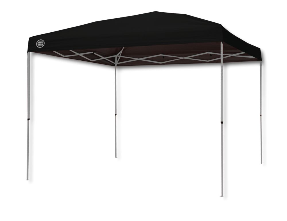 Shade Tech 10 ft. x 10 ft. Instant Patio Canopy in Black