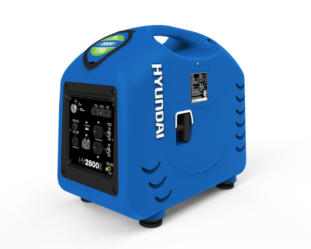 HY2800sei Portable Gas Powered Inverter Generator with Electric Start