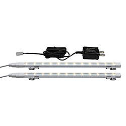 Illume 24-inch Enviro Ultra Slim LED Strip Kit with On Off Switch 3000K