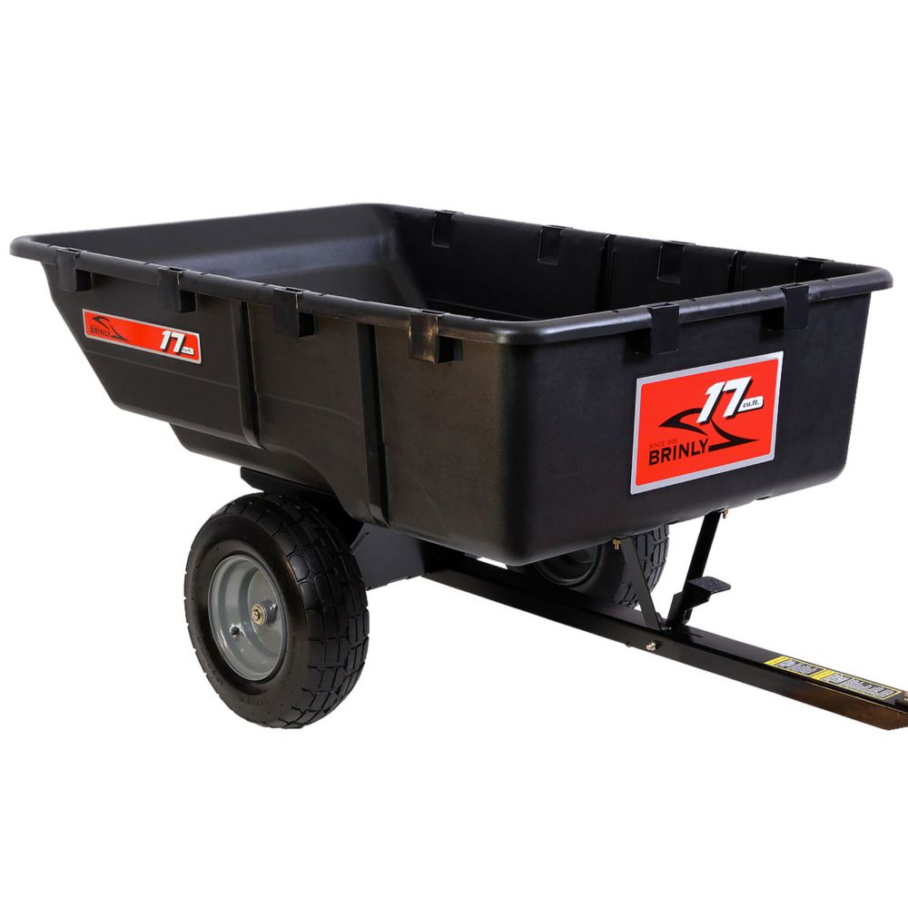 Tow Poly Cart - 17 Cu. Ft.