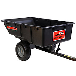 Brinly-Hardy 850 lb. 17 cu. ft. Tow-Behind Poly Utility Cart