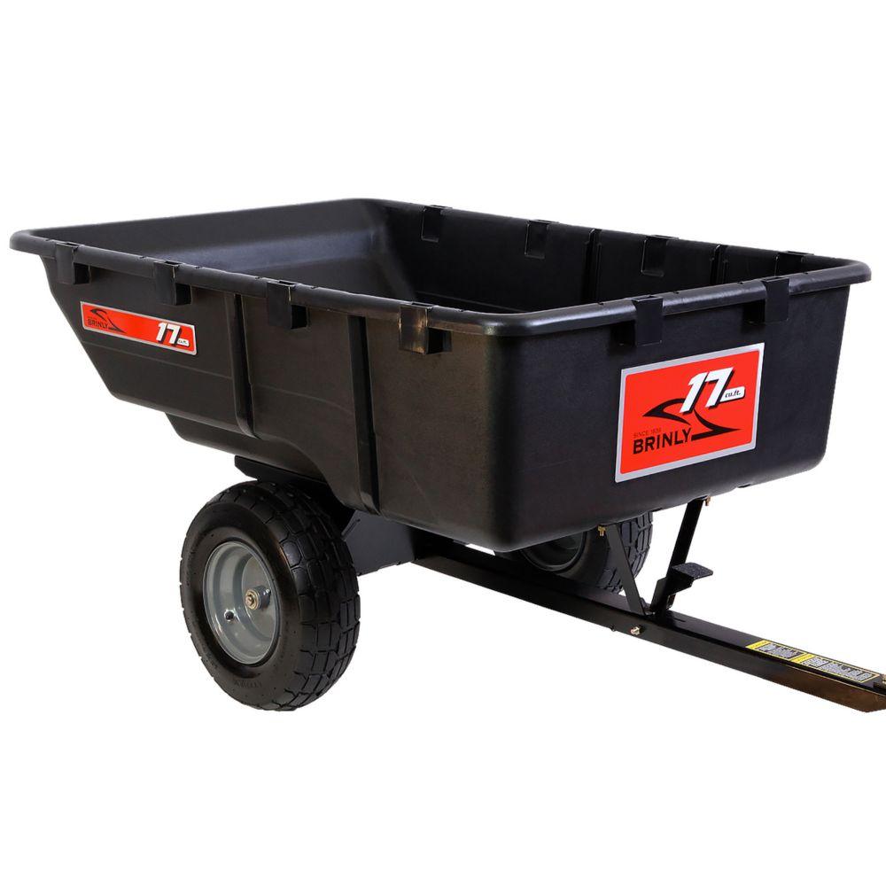 Tow Poly Cart - 17 Cu. Ft.