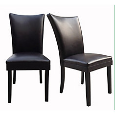 Parsons Leather Dining Chair (2-Pack)