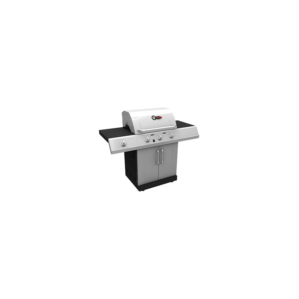 Char-Broil 500 Gas BBQ Natural Gas in Red