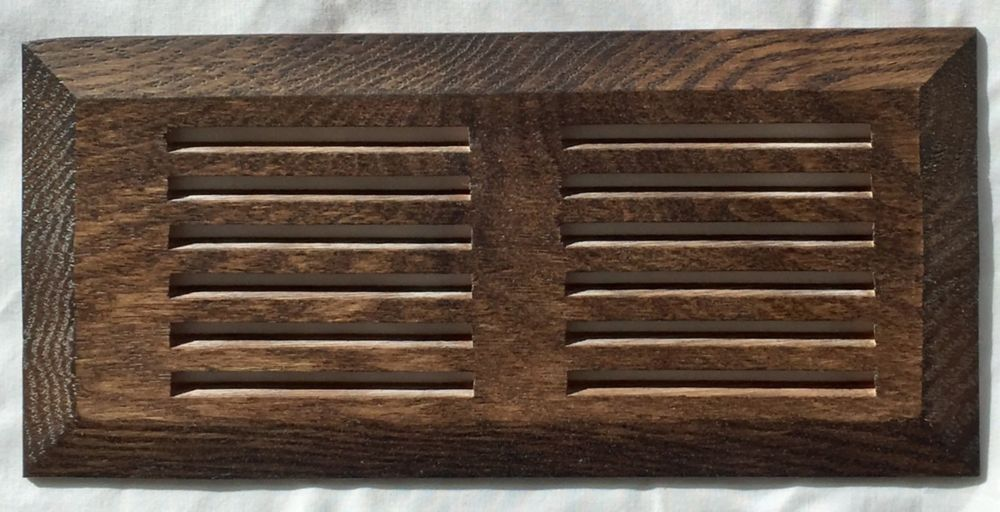 """Grille de Ventillation Surface Chêne Forested Hill 4""""X 10"""""""
