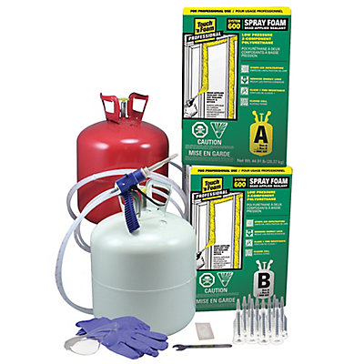Touch n foam professional system 600 2 component spray foam kit touch n foam professional system 600 2 component spray foam kit the home depot canada solutioingenieria Image collections