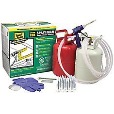 Touch 'n' Foam Professional 2-Component Spray Foam Insulation Kit