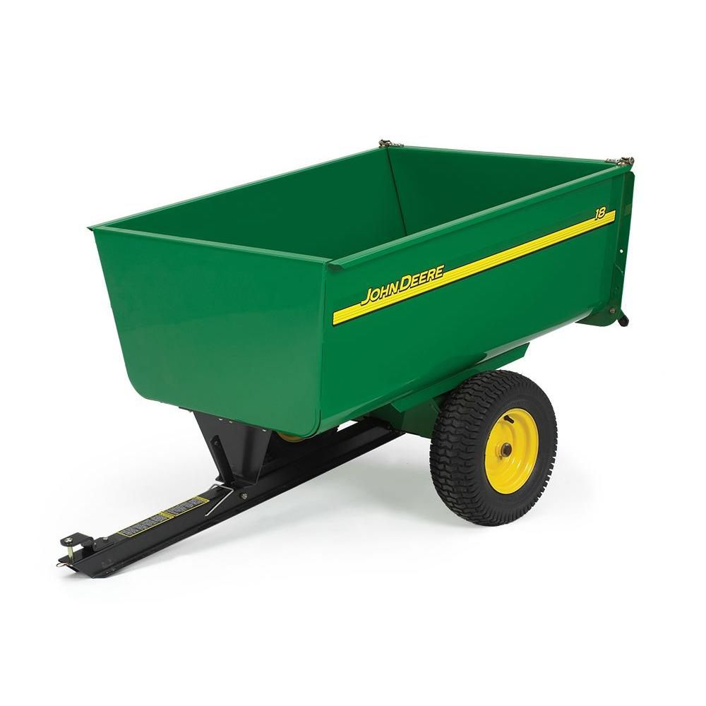 John Deere Steel Utility Cart 18 Cu Feet The Home