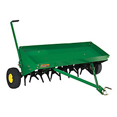 Plug Aerator for 48-inch Lawn Tractor