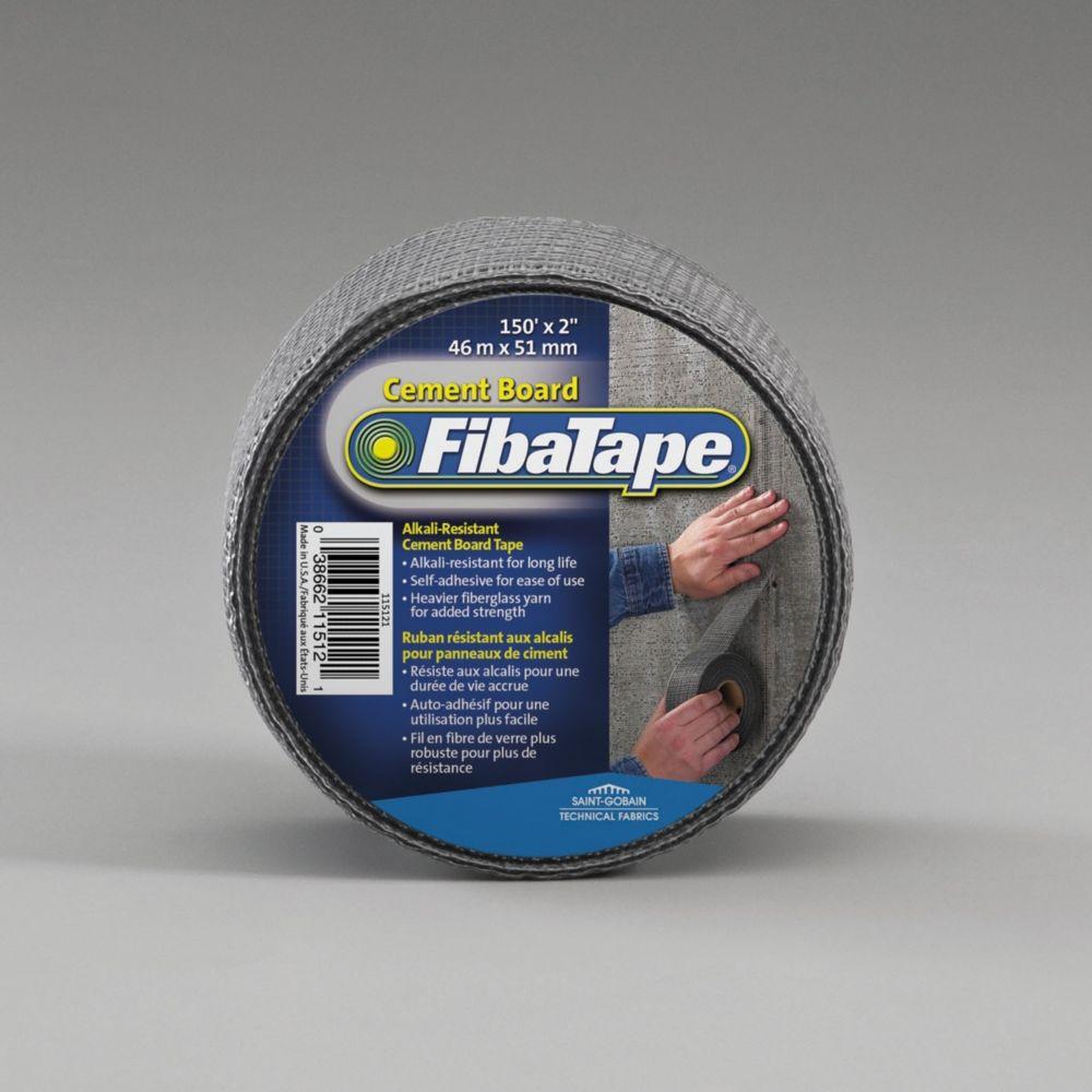 Cement Board Tape - Alkali-Resistant / Self-Adhesive