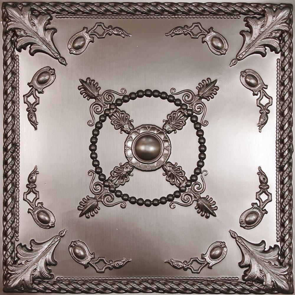 Ceilume Alexander Faux Tin Ceiling Tile 2 Feet X 2 Feet
