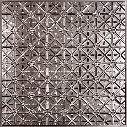 Ceilume Continental Faux Tin Ceiling Tile 2 Feet x 2 Feet Lay in