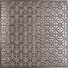 Continental Faux Tin Ceiling Tile, 2 Feet x 2 Feet Lay-in or Glue up