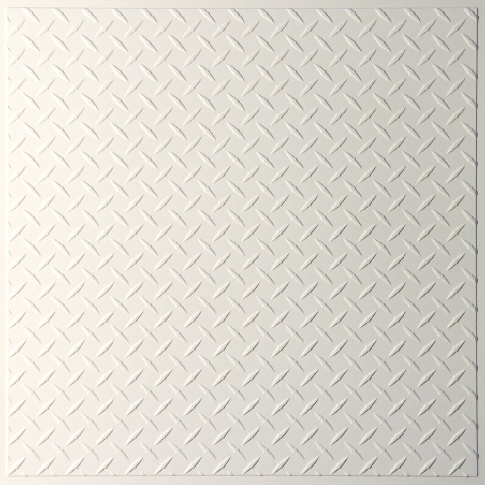Diamond Plate Sand Ceiling Tile, 2 Feet x 2 Feet Lay-in or Glue up V3-DIAMND-22SAO in Canada