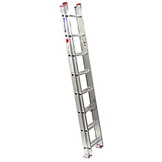 Aluminum Extension Ladder Grade 3 (200 lb. Load Capacity) - 16 Feet