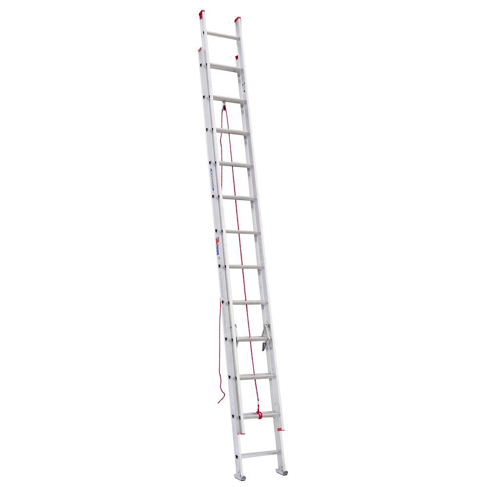 Aluminum Extension Ladder Grade 3 (200# Load Capacity) - 24 Feet