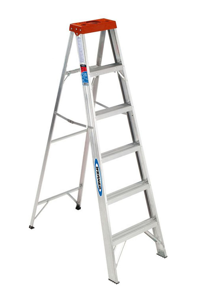 metaltech telescopic ladder 12 1  2 foot    csa approved grade 1 e