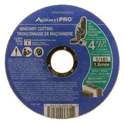 Avanti Pro 4-1/2 in. Masonry Cut-Off Disc Type 1