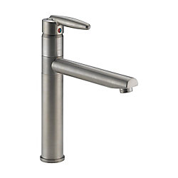 Delta Grail Single-Handle Kitchen Faucet in Stainless Steel