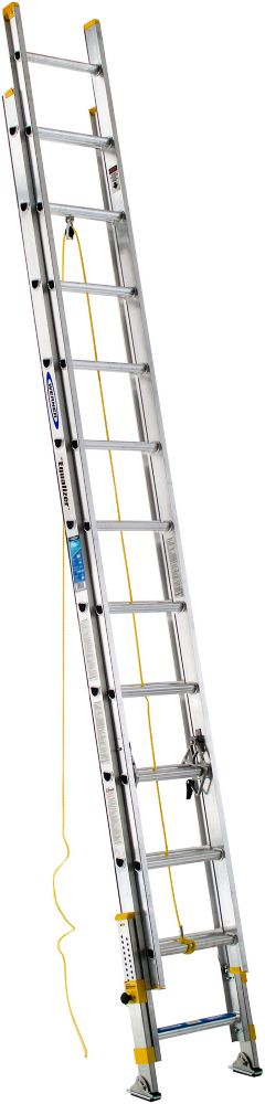 10 Feet Reach Fiberglass Podium Ladder With 300 Lb Load