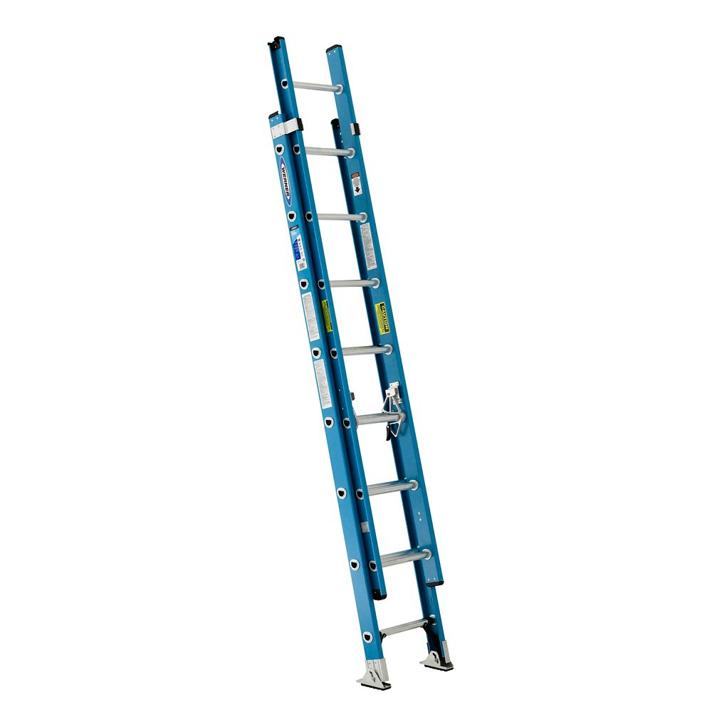 Fiberglass Extension Ladder Grade 1 (250# Load Capacity) - 16 Feet