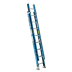 Fiberglass Extension Ladder Grade 1 (250 lb. Load Capacity) - 16 Feet