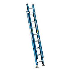 Fiberglass Extension Ladder Grade 1 (250# Load Capacity) - 16 Feet