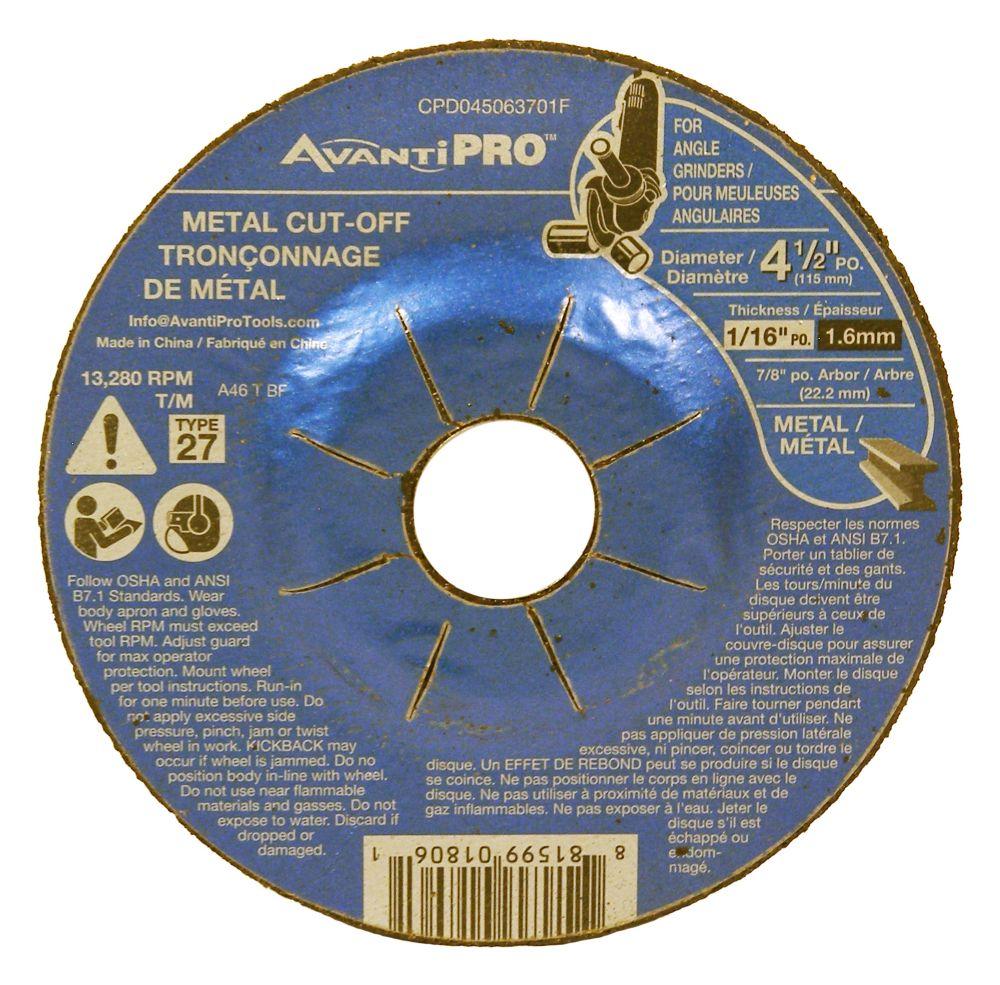 DC Cut-Off Disc