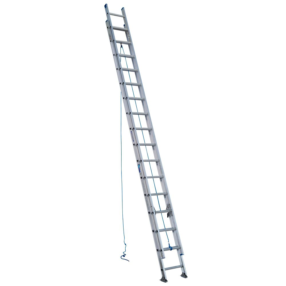 werner aluminum extension ladder grade 1  250  load capacity