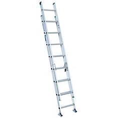 Aluminum Extension Ladder Grade 2 (225 lb. Load Capacity) - 16 Feet