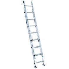 Aluminum Extension Ladder Grade 2 (225# Load Capacity) - 16 Feet