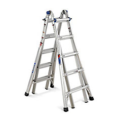 Aluminum Telescoping Multi-Purpose  Ladder Grade 1A (300 lb. Load Capacity) - 22 Feet
