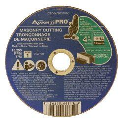 Avanti Pro 4 x 1/16 in. Masonry Cut-Off Disc