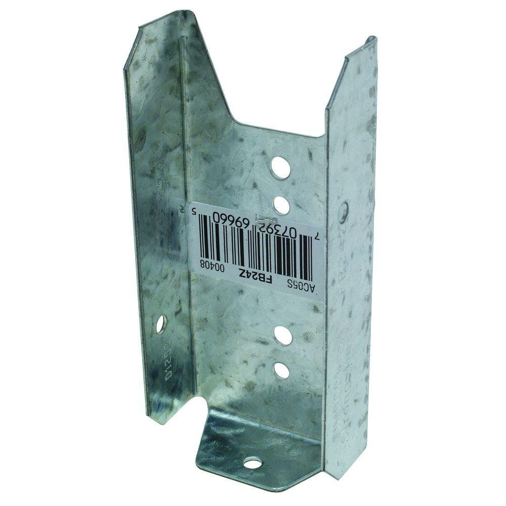Fence Bracket, 2 Inch x 4 Inch  - Carton of 100