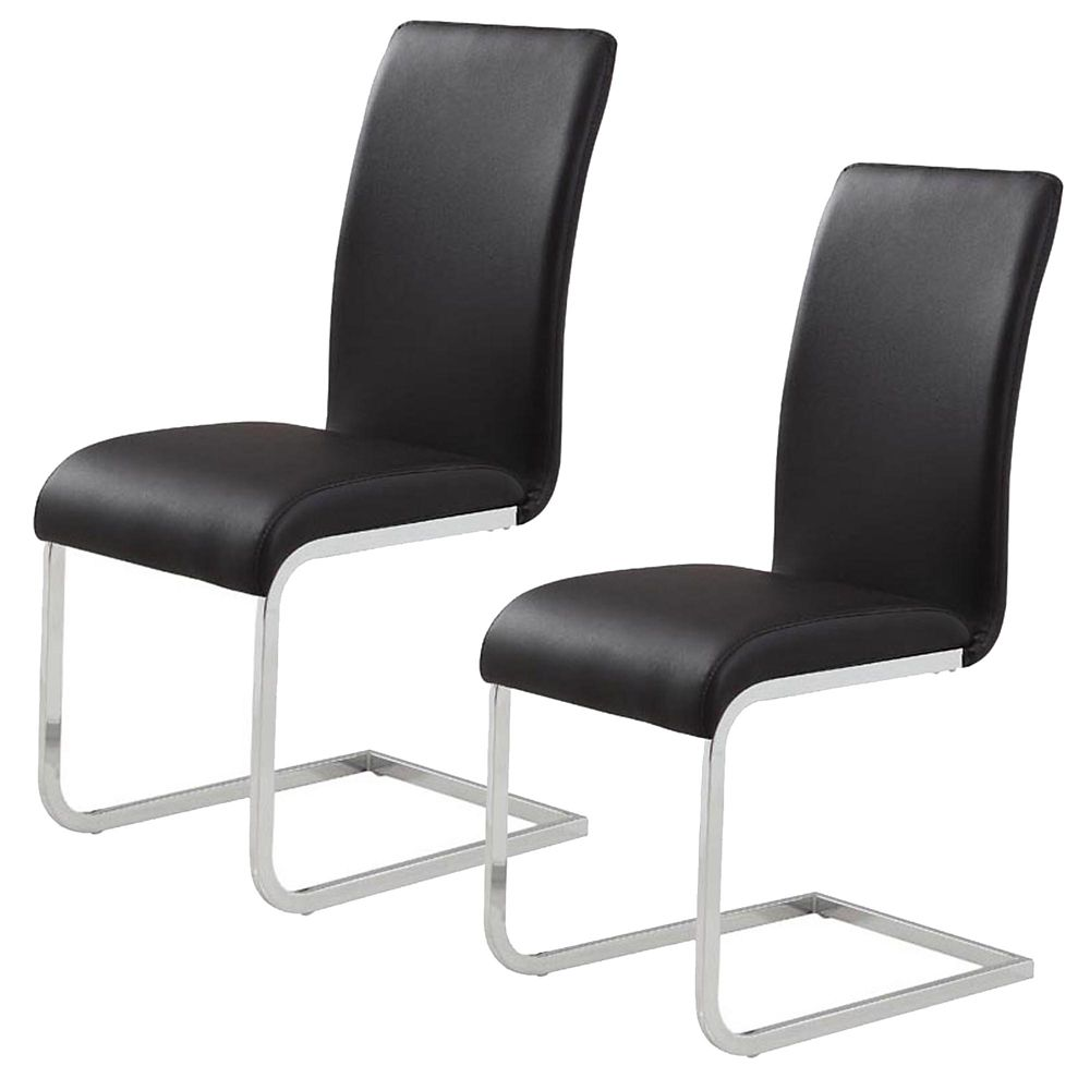 Maxim-Set Of 2 - Side Chair-White
