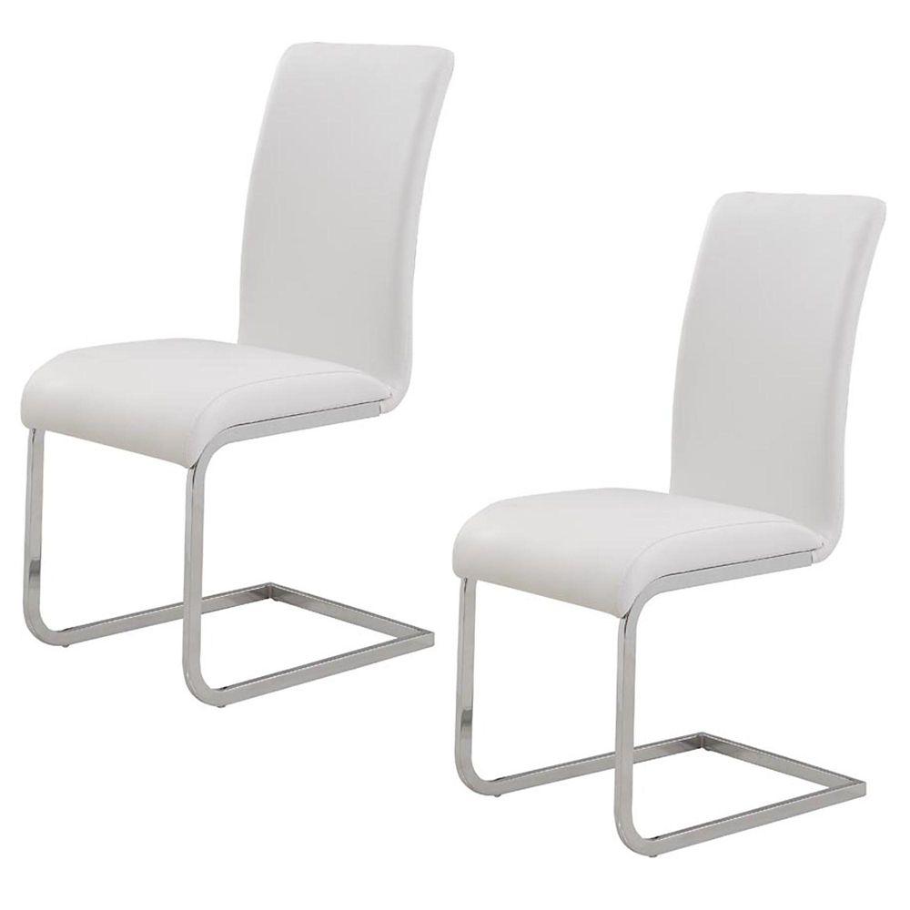 Maxim-Set Of 2 - Side Chair-Black